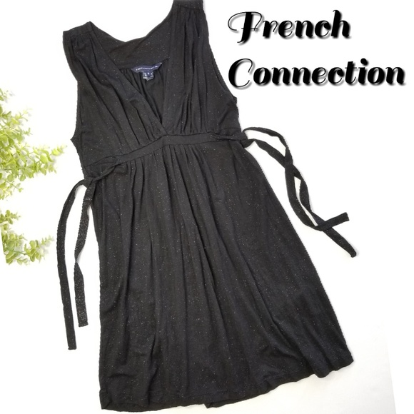 7848064e10b French Connection Dresses   Shimmer Side Tie Dress Tunic   Poshmark